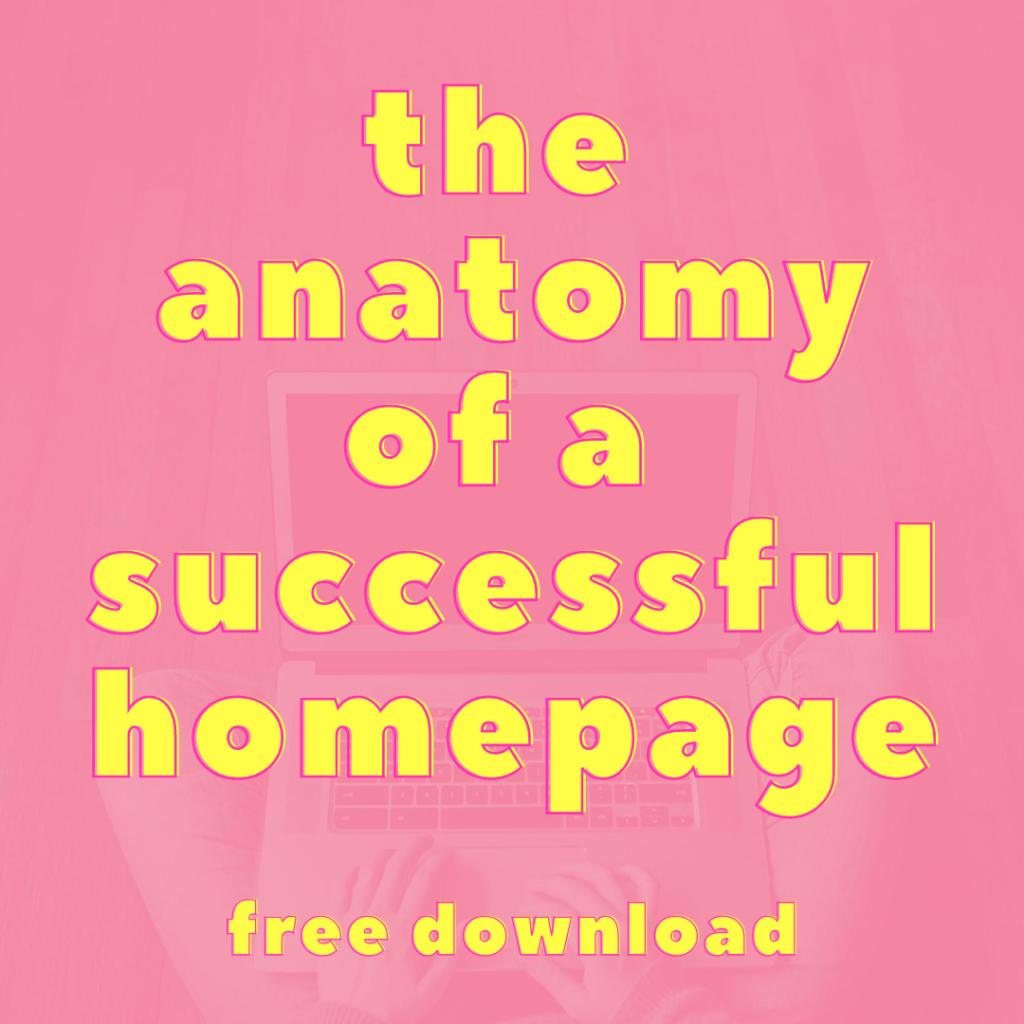 homepage cheatsheet