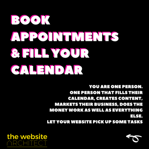 book appointments
